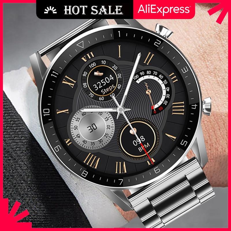 Ipbzhe Смарт-часы для мужчин вызовов через Bluetooth 2021 Android Бизнес Reloj Inteligente Смарт часы ЭКГ Smartwatch для IOS Iphone Huawei