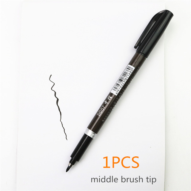 middle brush tip
