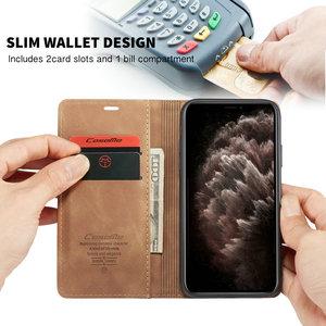 CaseMe чехол для iPhone 11 Ретро кошелек чехол карта винтажный Чехол для книги для iPhone 5 SE2 6 6S 7 8 PlusXR XS 11 Pro Max кожаный чехол