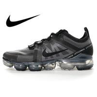 Original Authentic Nike Air VaporMax 2019 Mens Running Shoes Breathable Outdoor Sneakers Athletic Designer Footwear AR6631-002