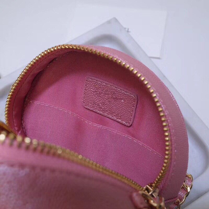 Bolso redondo de moda 2019 para mujer, Mini bolso Circular para mujer, bolso de fiesta para mujer, bolso de cadena con bandolera, bolso de marca para mujer - 5
