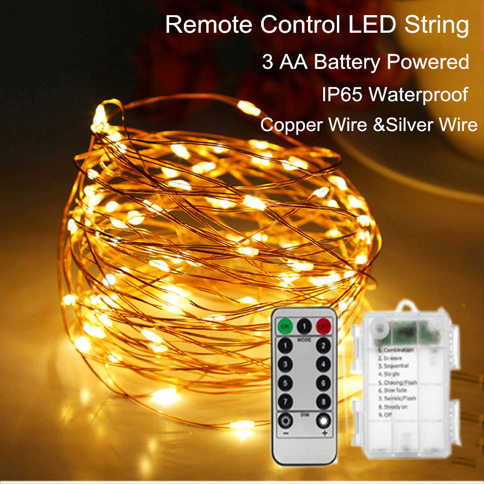 Led String Fairy Light Battery Operated
