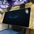 XGZ большой игровой коврик для мыши с Черным Замком технология спираль HD офисный компьютер заказной Настольный коврик Резиновая полоса Неск...
