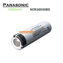 Panasonic – batterie lithium rechargeable, 3200mAh, 3.7V, pour e-cigarette, lampe de poche, 1 pièce, nouvelle collection
