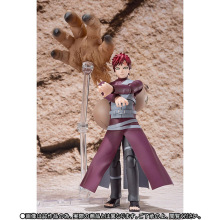 15cm japanese anime NARUTO Gaara PVC action figure toys NARUTO Gaara Joint movable collectible model figure toys for kids gift free shipping new star wars revo 005 boba fett action figure model 15cm pvc action figure doll toys kids gift brinquedos