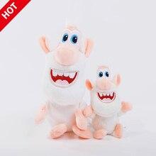 Русская Буба мультфильм маленькая белая свинка плюшевая игрушка белая обезьяна мягкая хлопковая кукла Фигурки игрушки для детей рождественские подарки