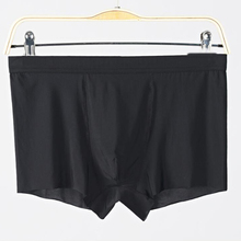 Men's Underpants Ice Silk Seamless Breathable Boxer Underwear Ultra-Thin Comfortable Large Sexy underwear
