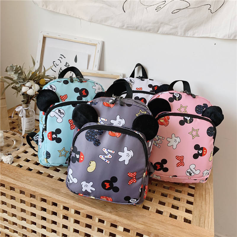 Fashion Children School Bags Cartoon Minnie Kid Bag Mickey Backpacks Kindergarten Preschool Backpack Kids Mochila