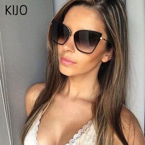2019 New Brand Designer Cateye Sunglasse
