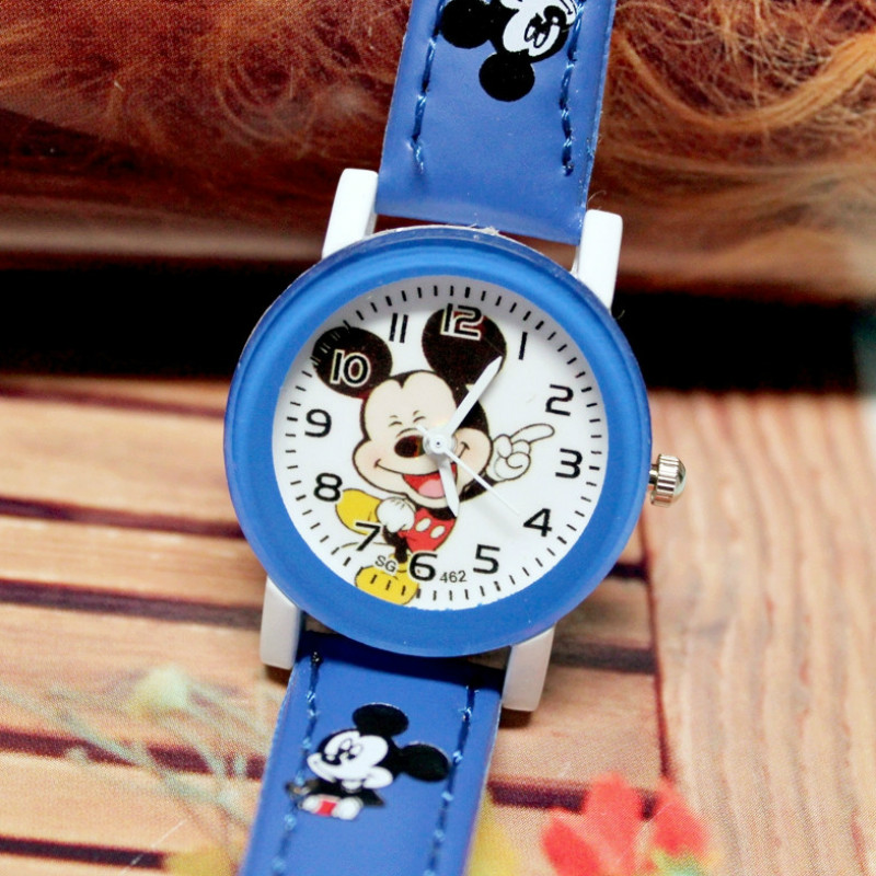 New 2016 Fashion Cool  Kids Watches For Children Girls Leather Digital Children Watch For Kids Boys Christmas Gift Wristwatch