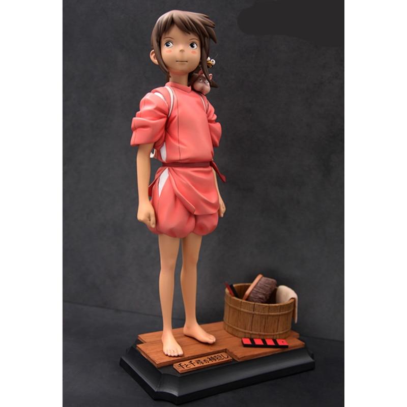 Presale аниме упитанная от спирали кукла Огино чихиро Миядзаки Хаяо ГК статуя смолы фигурку Коллекционная модель игрушки M3047