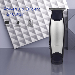 Surker Rechargeable Men Hair Trimmer Haircut Cutter Powerful Clipper Barber Shaving Scissors Razor Adjustable with 4 Limit Combs
