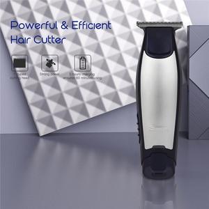 Surker, recortadora de pelo recargable para hombres, maquinilla para cortar el pelo, maquinilla de afeitar potente para peluquero, tijeras de afeitar, maquinilla de afeitar ajustable con 4 peines de límite