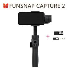 Захват funsnap 2 Ручной Стабилизатор для смартфона GoPro 7 XiaoYi 4k экшн камера не DJI OSMO 2 ZHIYUN FEIYUTECH