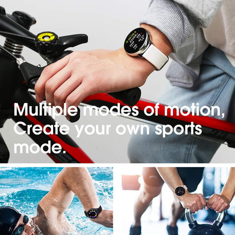Femperna Smart Watch IP68 Waterproof Bluetooth 5.1 Wireless Charging Heart Rate Monitor Smartwatch Men Women For Android IOS