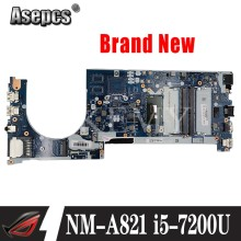 Akemy For Lenovo ThinkPad E470 E470C CE470 NM-A821 Laotop Mainboard NM-A821 Motherboard with A8-CPU Radeon i5-7200U CPU(China)