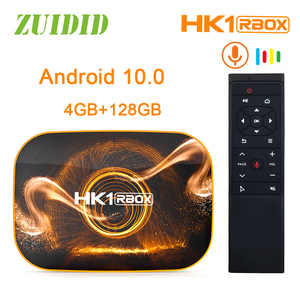 Hk1 rbox r1 caixa de tv android 10 rk3318 quad core 4k wifi smart tv caixa usb3.0 google play store youtube tv conjunto caixa superior