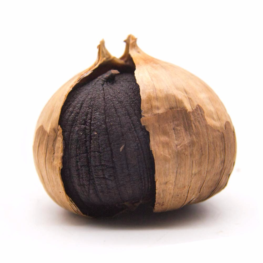 MQ Organic Black Garlic 250g Aged For Full 90 Days Whole Fermented Black Garlic Solve Constipation Protect Liver Health Food
