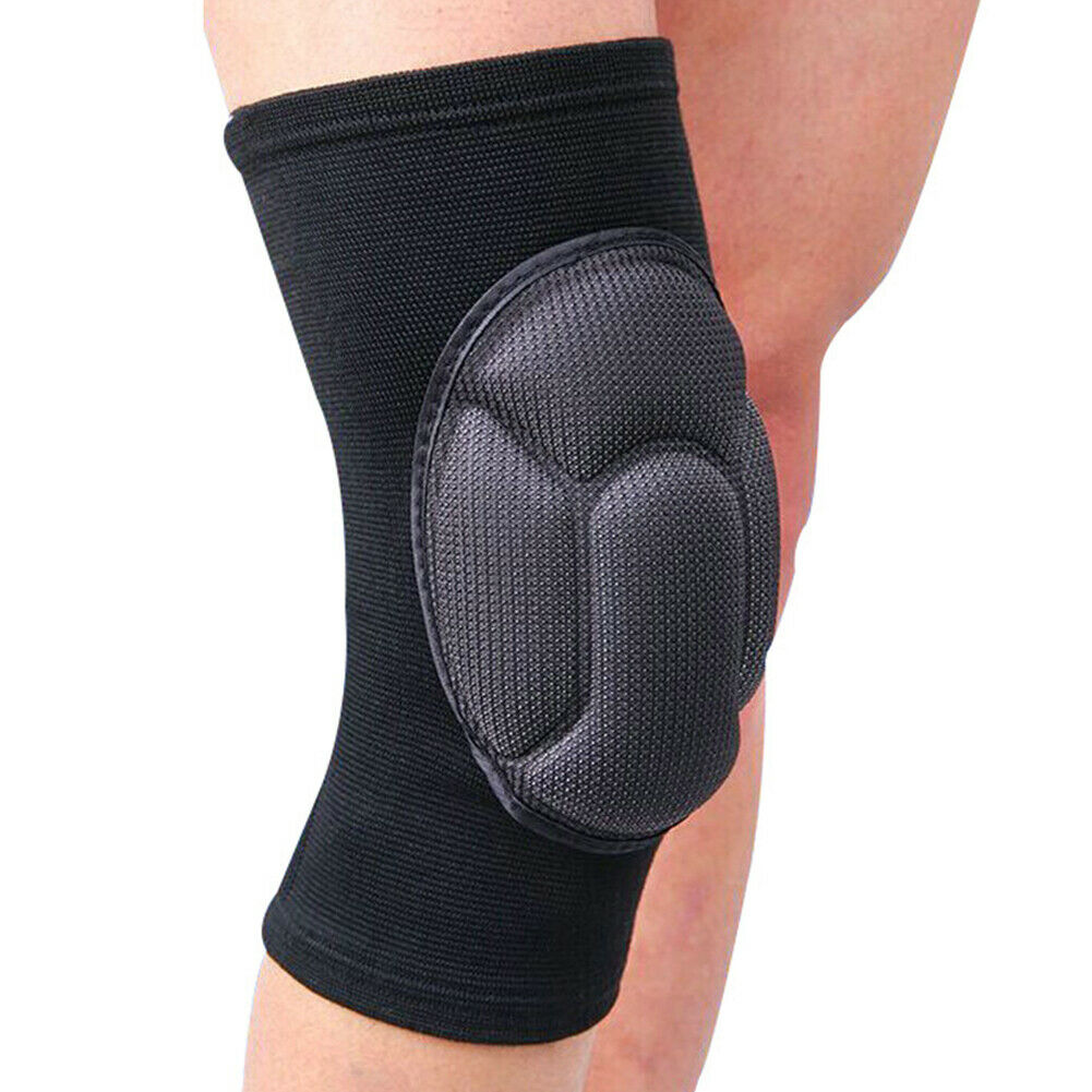1 Pair Kneelet Wrap Joint Protector Outdoor Sports Brace Work Safety Adult Arthritis Thickened Gardening Cycling Knee Pads