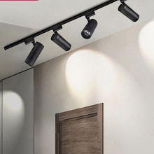 Rail-Lamp Track-Light Kitchen-Fixture Led Home-Store 12W 220V 30W for Foldable 20W