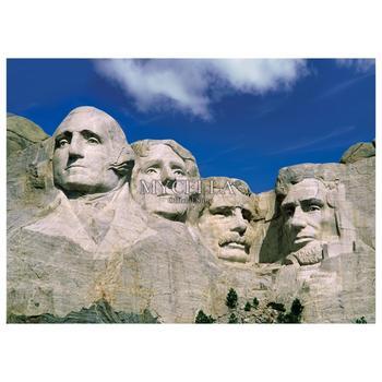 Broderie Diamant Monument Mont Rushmore