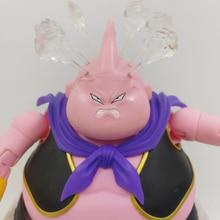 Tronzo D B Z Super SHF Majin Buu Zen Ver. เปลี่ยนAngryหัวแกะสลักควันอุปกรณ์เสริมAction Figureของเล่นของขวัญ