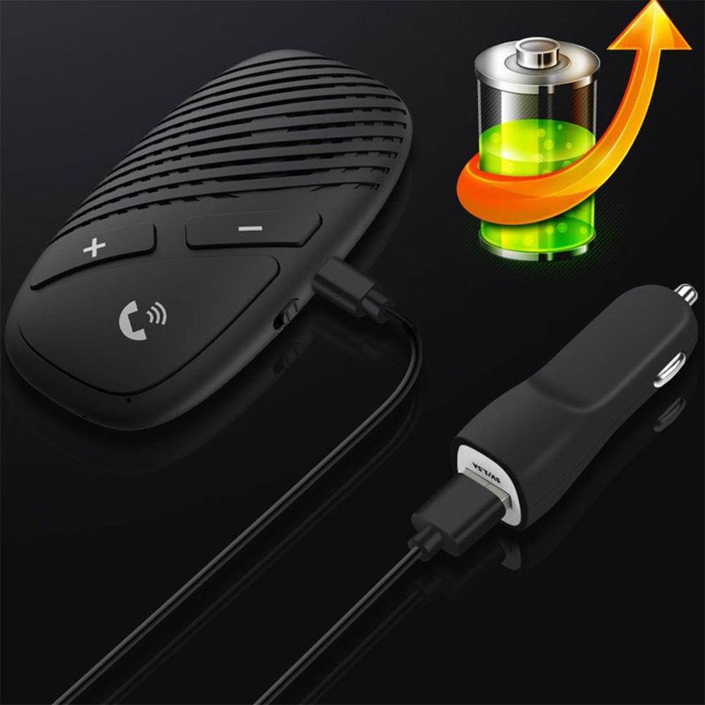 5.0 Intelligent Car Hands-Free Receiver Visor Hands-Free Receiver Chinese And English Switch One For Two Receiver P30