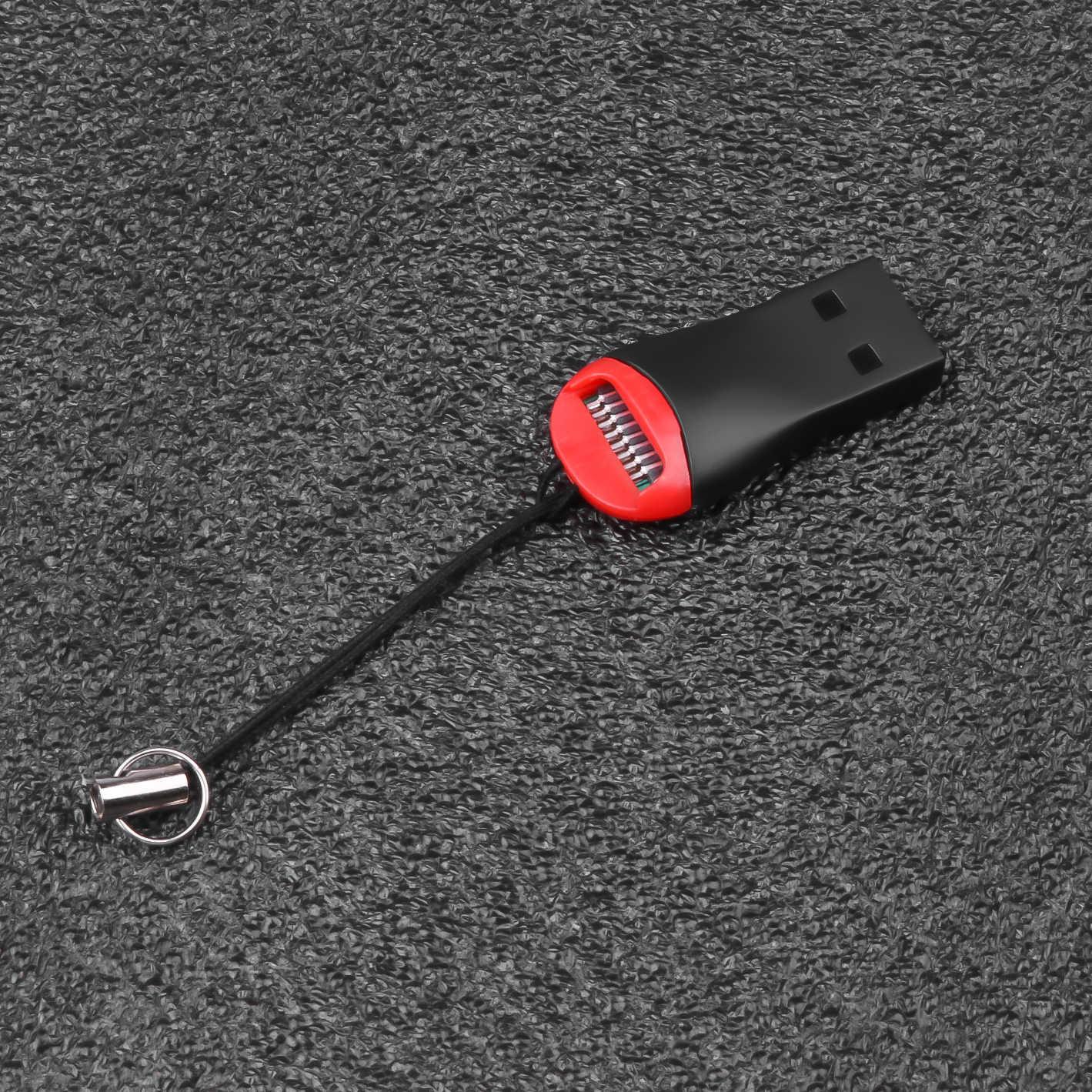 Kebidu USB 2.0 Card Reader Adaptor Internal untuk Micro Sd SDHC TF Flash Memory Card Reader Mini Adaptor untuk Laptop