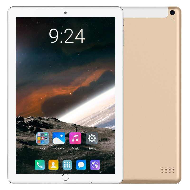 Hot Super 10 Inch Tablet PC Octa Core 6GB RAM 128GB ROM Android 8.0 WiFi GPS Dual SIM 3G 4G Network Phone Call Pad 10.1 Tablets