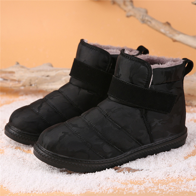 2019 Winter Ankle Waterproof Snow Boots Men Botas Hombre Boot Men's Shoes Botte Homme Snowboots Snowshoes Footwear Dropshipping 1