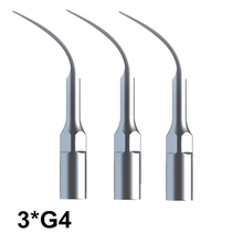 Dental Material 3 Pcs G4 Laboratory Equipment Scaler Tip For EMS Woodpecker Ultrasonic Care Tools