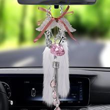 Высокое качество кристалл украшение автомобиля подвеска для