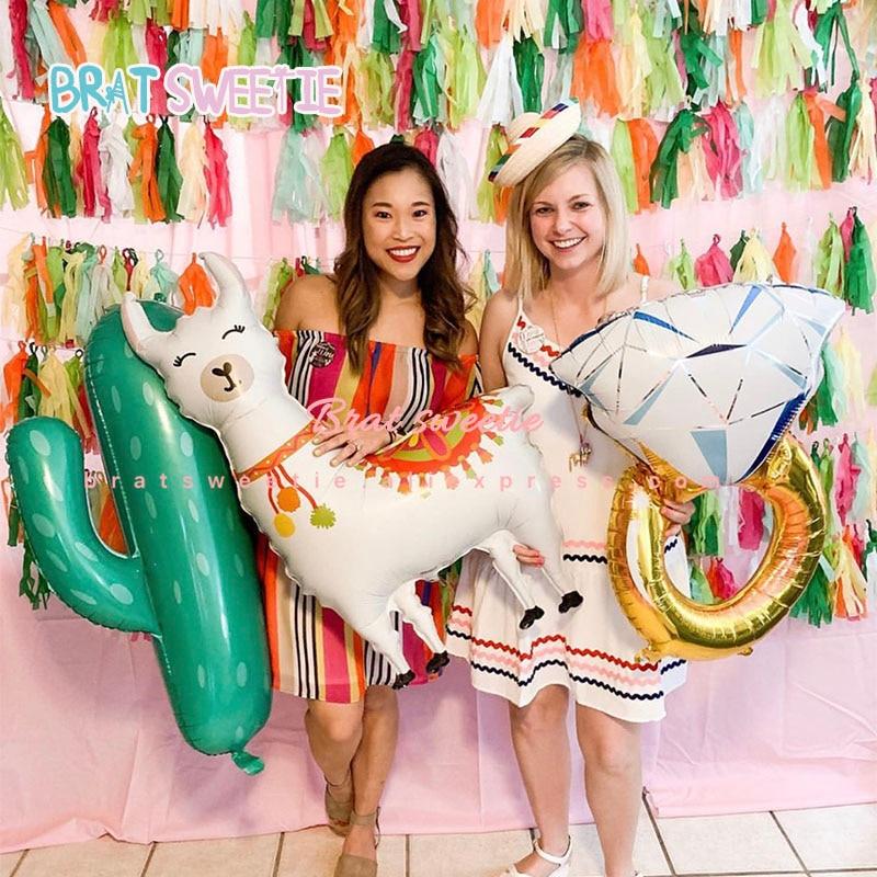 Llama Birthday Garland Funny Alpaca Happy Birthday Party Decorations Hilarious Party Supplies