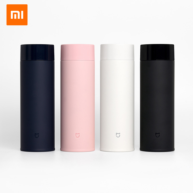 Xiaomi Mijia 350ml Stainless Steel Water Bottle 190g Lightweight Thermos Vacuum MIni Cup Camping Travel Portable Insulated Cup