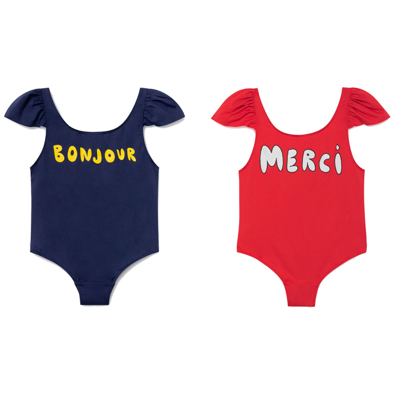 2019 Summer New Style INS Hot Selling Tao Celebrity Style CHILDREN'S Swimwear Girls Baby Swimwear One-piece Large Children