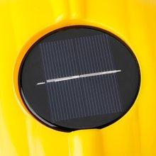 Желтый Солнечный вентилятор охлаждения Безопасность шлем работы