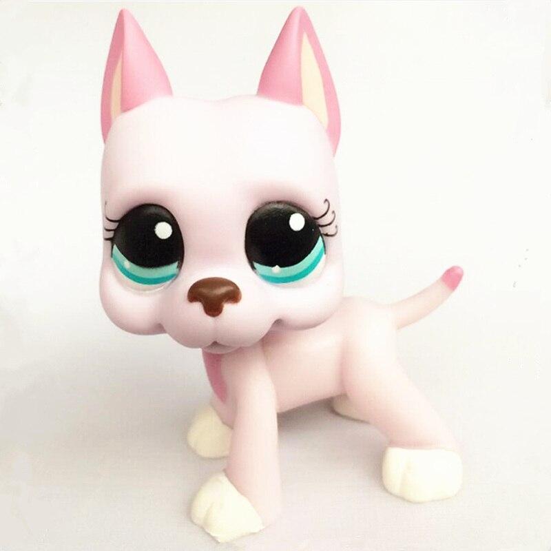 New LPS Great Dane Poodle Dachshund Shorthair Cat Model Handmade Children's Toys Children's Gifts