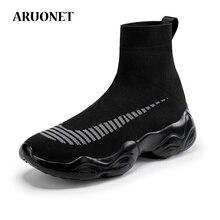 AURONET Brand Sneakers Unisex Casual Shoes Men Big Size Ligh