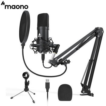 MAONO A04Plus USB Microphone Cardioid Condenser Podcast Microfono 192kHz/24bit Plug and Play With for Livestreaming YouTube ASMR 1