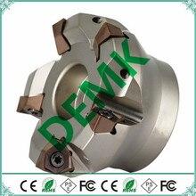 MFWN90 50-22-4T 63-22-5T 80-27-6T 100-32-7T CNC Milling cutter knife dish Use insert WNMU080608-GM CNC flat milling cutter