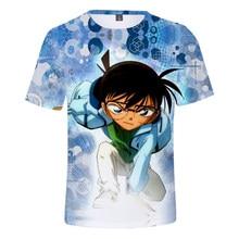 2021 Summer 3D Detective Conan T-Shirts Men Women Harajuku Short Sleeve t shirt Fashion boys girls 3D T-Shirt Plus Size Tops
