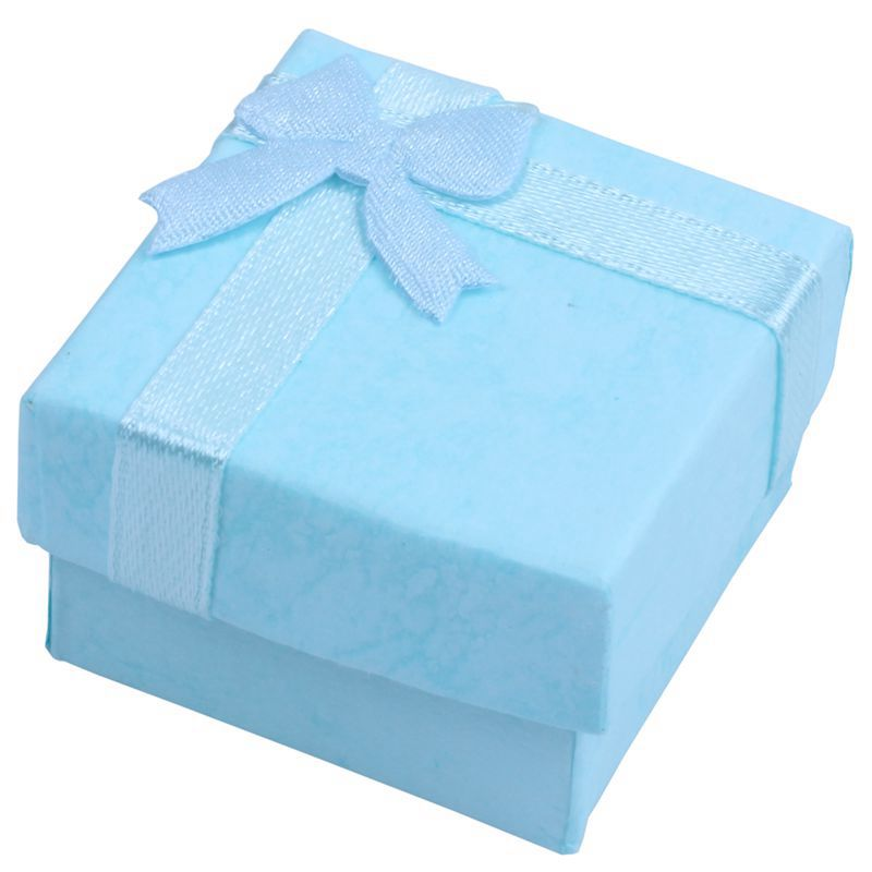 12pcs BlueJewelry Ring Earrings Bangle Gift Boxes Cutely Small Gift Box