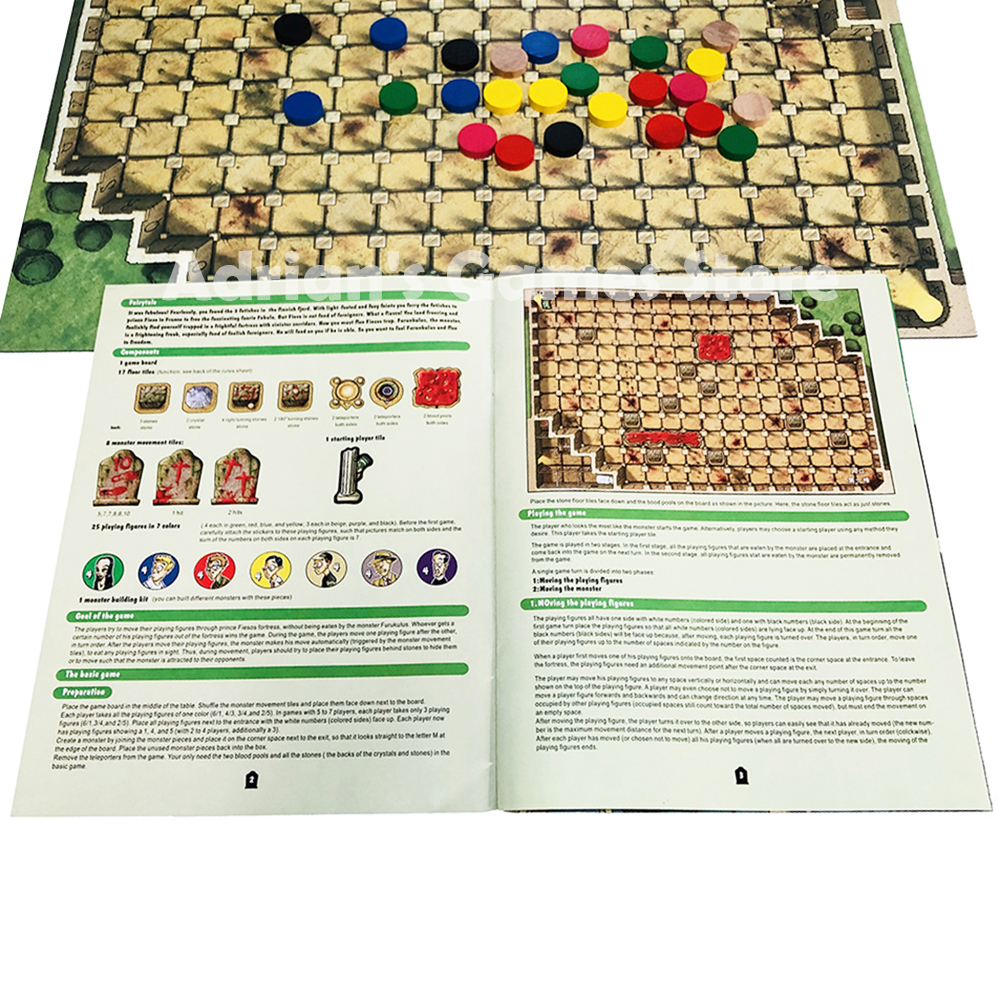 Image 3 - Fearsome Floors Frightful Board Game Finstere Flure Easy To Play 2 7 Players Party GameBoard Games   -