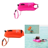 Inflatable Dry Bag Safety Swim Buoy Pull Float Swimming Safety Float Waterproof Dry Bag