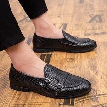 Moda Cómoda para hombre Mocasines casuales Zapatos Estilo vintage