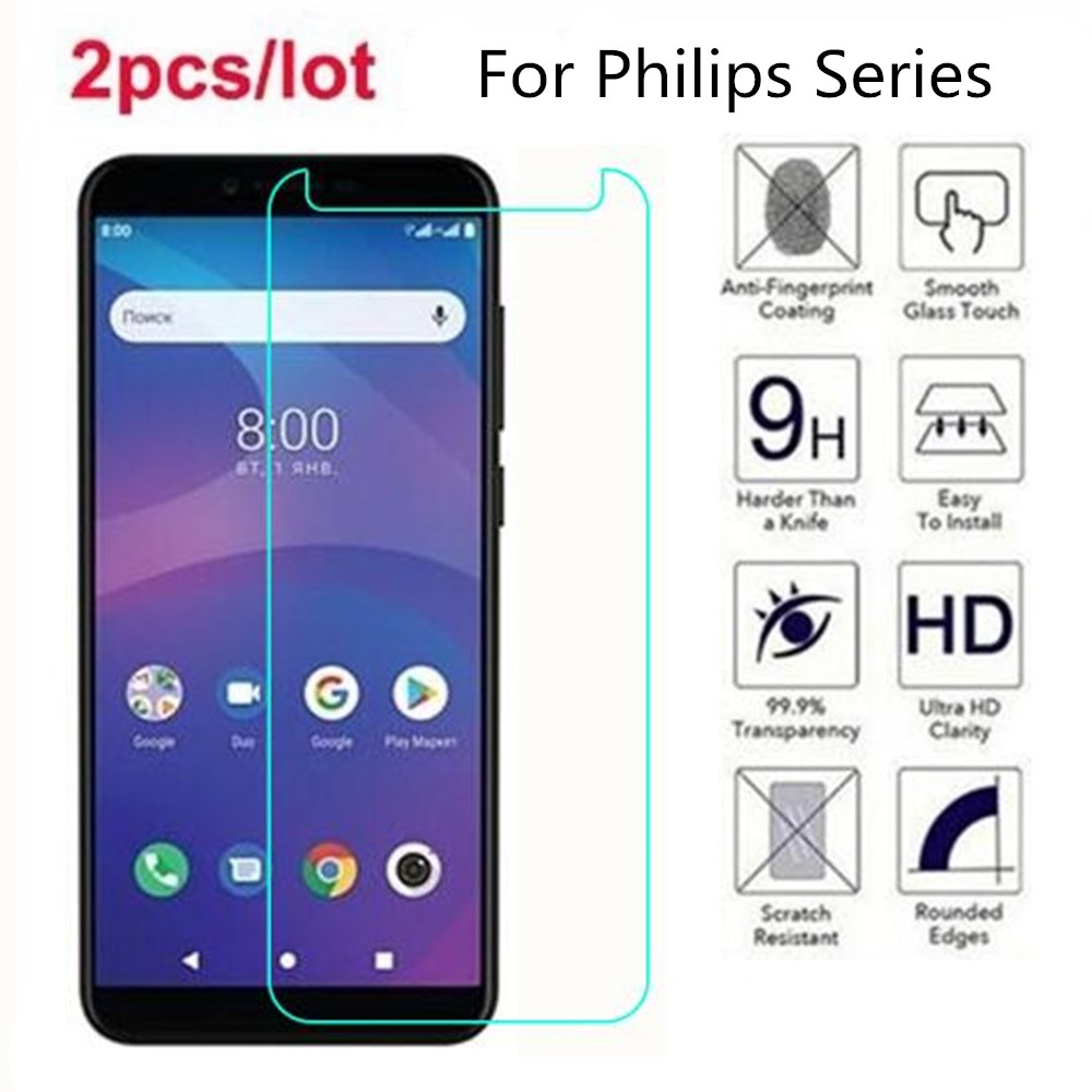 Tempered Glass For <font><b>Philips</b></font> Xenium S386 X588 V787 V526 2.5D Premium <font><b>Screen</b></font> Protector Film On <font><b>Philips</b></font> S318 <font><b>S326</b></font> S327 S260 S397 image