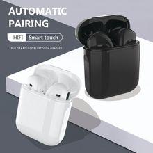 I12 tws fones de ouvido sem fio bluetooth 5.0 toque original pop-up verdadeiro pk i11 i9s com caixa de carregamento