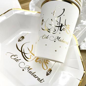 Eid Mubarak Decor balony Banner Ramadan Mubarak dekoracje muzułmański islamski festiwal Party 2021 Ramadan Kareem Eid dekoracji tanie i dobre opinie cyuan CN (pochodzenie) litera Tektura Ślub i Zaręczyny Id al-Fitr Chrzest chrzciny Na Dzień świętego Patryka Wielkie wydarzenie