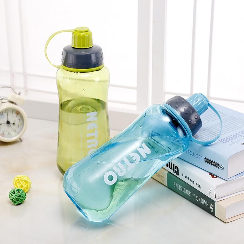 Spor ve Eğlence'ten Spor Şişeleri'de Sızdırmaz yüksek sıcaklığa dayanıklı spor kupası açık plastik 1500 taşınabilir cam el spor şişesi title=