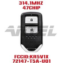 Сменный дистанционный ключ для автомобиля ANTEL 314,15 МГц для Honda Fit Jazz XRV Venzel HRV 72147-T5A-U01 с чипом NCF2951X HITAG 3 47